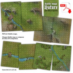 Battle Maps Nature PDF A4