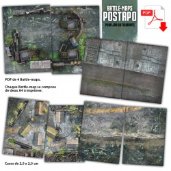 Battle Maps POSTAPO PDF A4