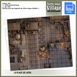 BATTLE MAPS VILLAGE 01 JPG